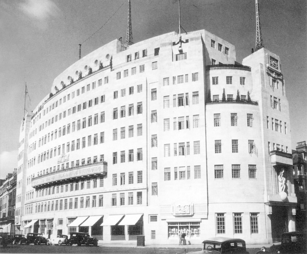 Broadcasting House from Portland St